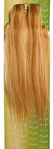 'Dream Hair Extensions à clip Lot de 8 Pièces lisse 22/Longueur 56 cm blond méché
