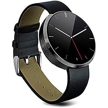 Inteligente Reloj de Frecuencia Cardíaca, Stoga DM360 Monitor de Pulso Cardiaco Rastreador de Fitness Bluetooth Impermeable Dial de Control de Voz ...