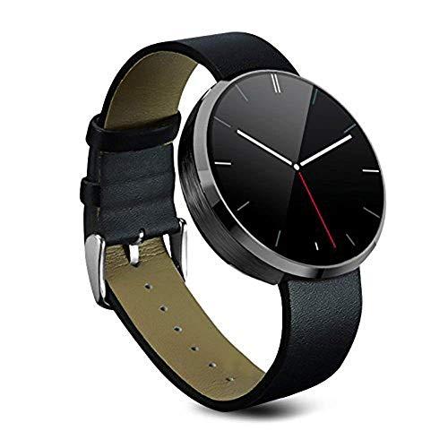 Orologio Intelligente, STOGA DM360 Cardiofrequenzimetro Bluetooth Fitness Tracker per la frequenza cardiaca Impermeabile Comando vocale Dita Movimento per Samsung HTC Android e IOS