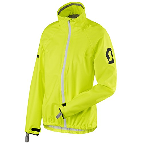 Scott Ergonomic Pro DP Damen Motorrad / Fahrrad Regenjacke gelb 2018: Größe: 40