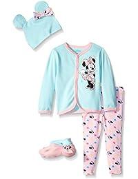 Disney Baby Girls Minnie Mouse 4-Piece Cardigan