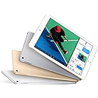NEWEST Apple iPad with WiFi - 32GB - Gold (NEW IPAD - LATEST MODEL - 2017) (REPLACES iPad Air 2)
