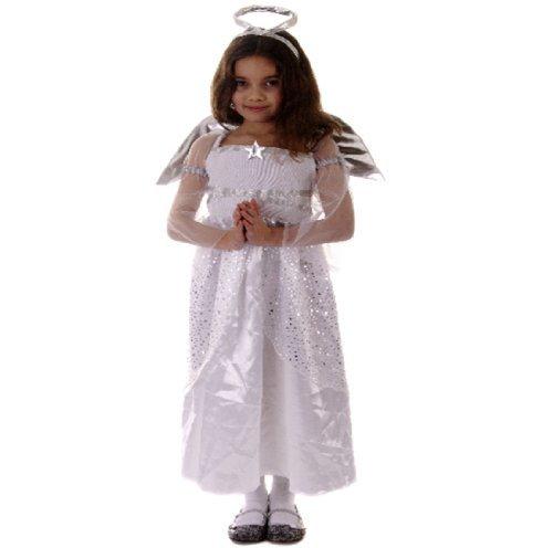 Mädchen Kostüm Weihnachten Kinder Engelskostüm ()