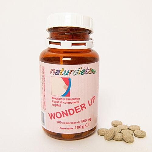 Naturdieta Prodotto naturale Wonderup per l'aumento del seno 200 comprese