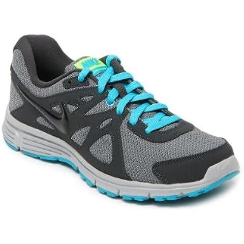 Nike Revolution 2 Msl - Zapatillas de running para hombre, color gris / negro
