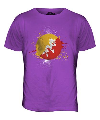 CandyMix Bhutan Fußball Herren T Shirt Violett