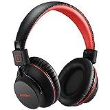 Mpow H1 Bluetooth Kopfhörer Over Ear, over Ear Kopfhörer mit leichtem Rückstellschaum Ohrpolster & Dual 40mm Treiber, 20 Stunden Spielzeit, Perfekt Bass, 3,5 mm AUX, On-Ear Steuerung
