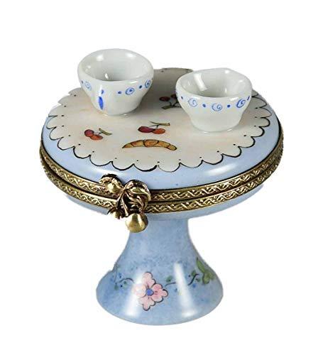 Porcelaine de Limoges - Boîte en tête à tête