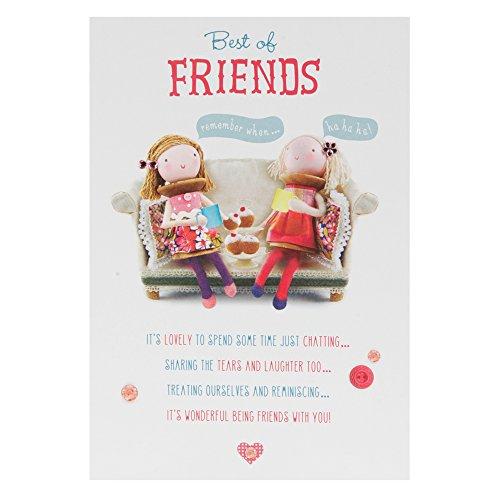 Best Friend Birthday Card: Amazon.co.uk