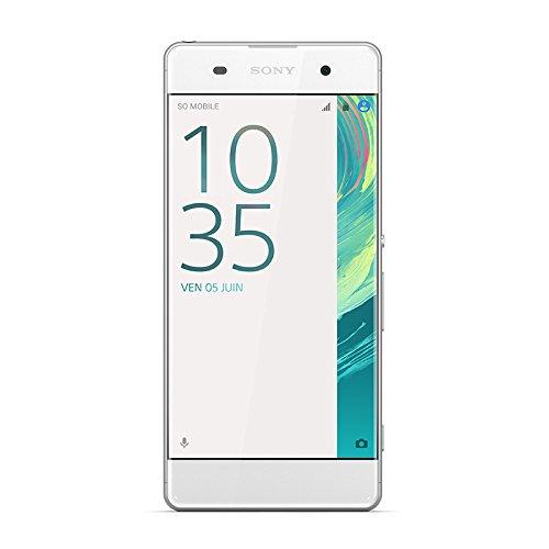 Sony Mobile Xperia XA Smartphone débloqué 4G (Ecran: 5 pouces - 16 Go - Double Nano SIM - Android) Blanc