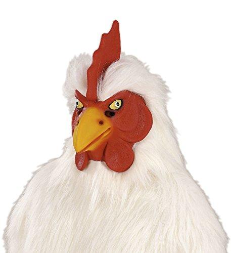 Hahn Huhn Henne Maske Vollkopfmaske Tiermaske Hühnermaske Vogel