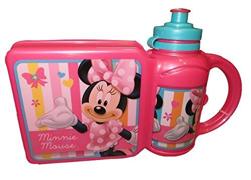 Disney Minnie Mouse Lunch Box und Flasche Combo (Disney Minnie Mouse-großes Spielzeug-box)