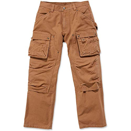 Carhartt Mens Durable Duck Multi Pocket Tech Cargo Pants Trousers -