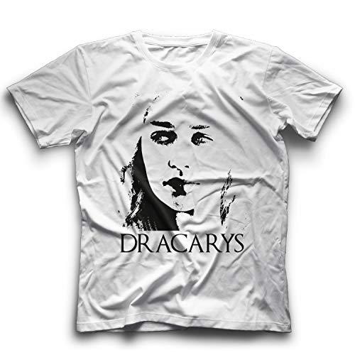 Dracarys-Shirt Game Thrones T-Shirt Khaleesi-T-Stück Dragon Gift, S -