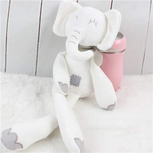 Mignon Lapin Éléphant Bébé Doux en Peluche Jouets 40cm en Peluche Lapin Peluches Jouets Blanc Prix Le Moins Cher Cadeau pour Enfants Éléphant