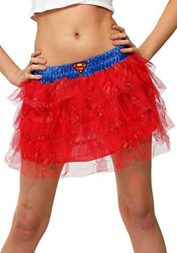 DC Comics Supergirl Logo Print Tutu- One (Supergirl Kind Kostüm Tutu)