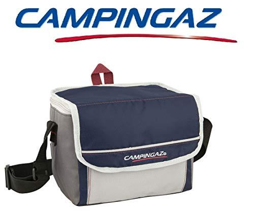 ALTIGASI Hohe Kühltasche FOLD\'N Cool CAMPINGAZ 5 Liter CAMPINGAZ mit verstellbarem Schultergurt und Fronttasche - Leistung bis zu 6 Stunden mit FREEZ Pack