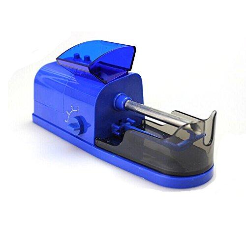 TianranRT Américain réglementation électrique cigarette électrique automatique cigarette rouler machine tabac fabricant rouleau (Bleu)