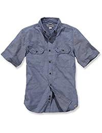 Carhartt fort solid short sleeve shirt-arbeitshemd-s200