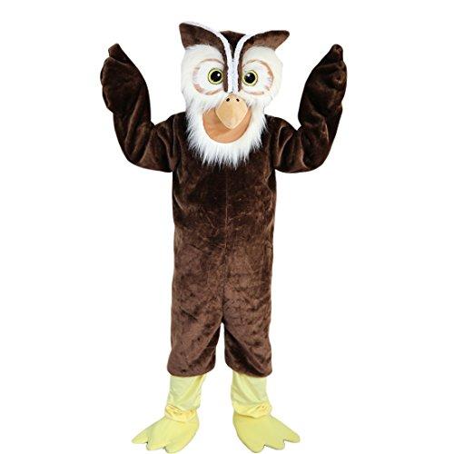 Kostüm Eule Maskottchen - Langteng mit Eulen-Mascot Kostüm mit Bild, 15-20days-Marke