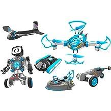 RC TECNIC 6 Juguetes en 1 | Construye 6 vehículos Inteligentes | Flight Lab Evolution |