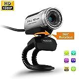 Best Caméras Ausdom - AUSDOM® Webcam HD, Full HD 1080p/30 fps Caméra Review