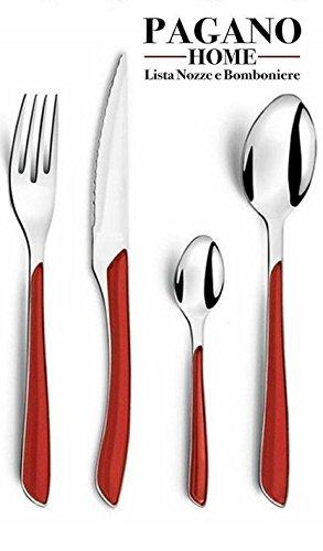 servizio-posate-modello-genny-rossa-24-pezzi-per-6-posti-tavola-persone-in-acciaio-inox-lavabile-in-