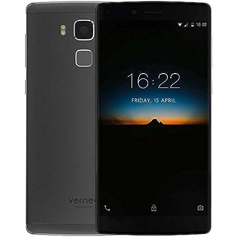 Vernee Apollo Lite - 4G Móvil Smartphone Libre Android 6.0(Phablet 5.5 Pulgada MTK6797 Helio X20 Deca Core,4GB RAM + 32GB ROM,5MP+16MP Cámara,4K Vídeo,Tipo-C Carga Fingerprint Corning Gorilla