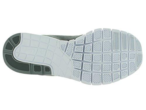 Nike Stefan Janoski Max L Uomo Sneakers Grigio, Grigio scuro, Arancione, Bianco (Wolf Grey/Cool Grey/Hot Lava/White)