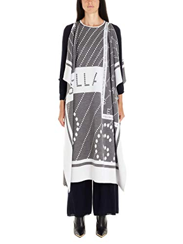 Stella McCartney Luxury Fashion Damen 553310S20938490 Grau Poncho | Herbst Winter 19 9
