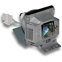 Alda PQ Original, Lámpara de proyector para BENQ MP 522ST Proyectores, lámpara de marca con PRO-G6s viviendas