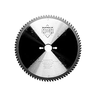 New Generation HM Circular Saw Blade 254 x 3.2 x 30 with 80 HM Teeth for Aluminium and Plastic Profiles Metabo Kgs 254 M/Metabo Kgs 254 M Plus