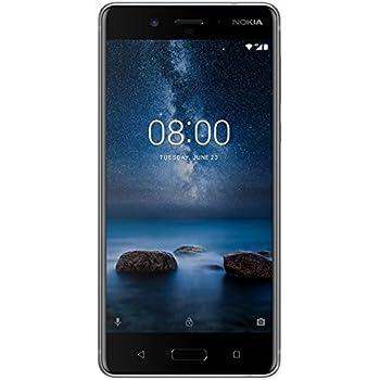 Nokia 8 (Steel, 4GB RAM, 64GB Storage)
