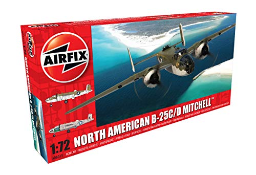 Airfix A06015 North American B25 C/D Mitchell Model