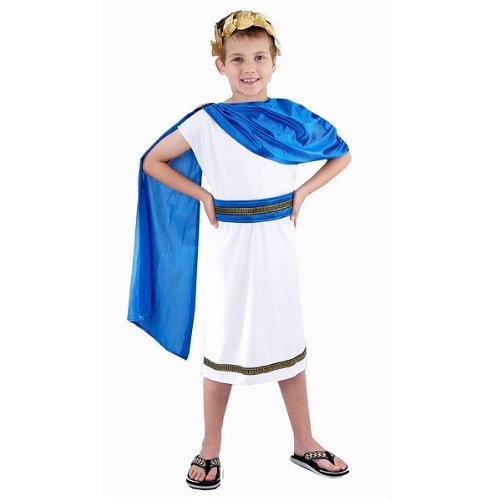 Jungen römischen Kaiser Cäsar Kostüm Ages (Kostüm Caesar Kinder)