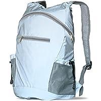 Reflektierender Fahrradrucksack für eine ausgezeichnete Sichtbarkeit - leichter, wasserundurchlässiger, faltbarer Rucksack - für Schulwegen, beim Laufen, Spazierengehen & Radfahren