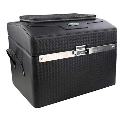 Boîte de Rangement de Voiture Organisateur de Coffre pour Voiture (Color : Black, Size : 44 * 32 * 32cm)