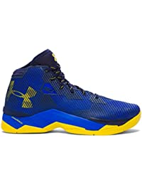 UA GS CURRY 2.5 TRY (BLUE/YELLOW, 36)