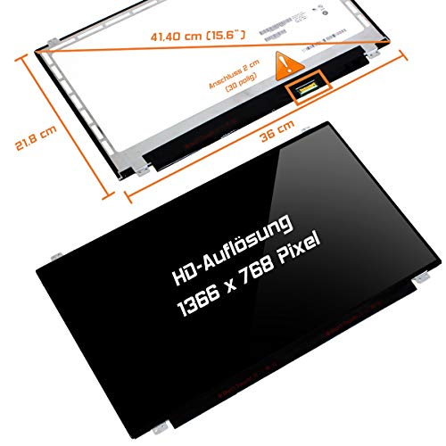 "Laptiptop 15,6"" LED Display Screen Glossy Ersatz für HP 15-Ba024ng 1366x768 HD 30pin Bildschirm Panel"