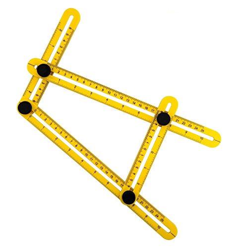Angleizer Vorlage Werkzeug Winkel Lineal Winkel Messwerkzeug Multi-Angle Mess-Lineal für Carpenter Handymen Builders Handwerker