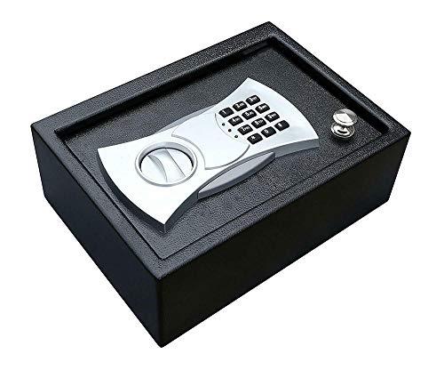 Caja de seguridad para el hogar Cerradura Caja de pistola Electrónica Plana...