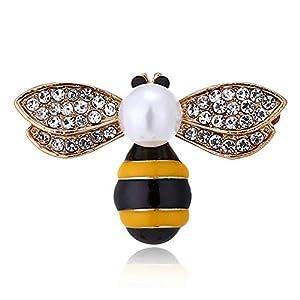 auvwxyz. Brosche Mode Mini Niedlichen Tropfen Öl Biene Wespe Insekt Brosche Frauenzubehör