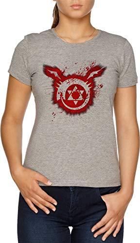 Ouroboros Damen T-Shirt Grau