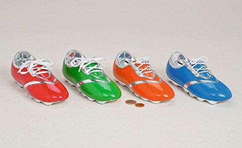 G-Brand Spardose Fußballschuh, Trendy Sparschuh, Farbe:orange