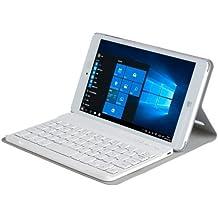 Horizontal Flip Leather funda carcasa case con desmontable Bluetooth teclado & Soporte para CHUWI Hi8Pro Tablet PC (Grey)