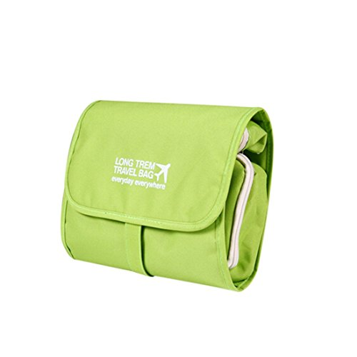 Freckles Green Travel Cosmetics Bag / Toiletry Bags Toiletry Organizer Waterproof Toiletries Bag For Men & Women...