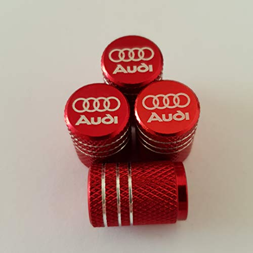 Del Audi Reifenventil-Staubkappen mit Lasergravur für alle Modelle S Line R8 Q5 Q8 S5 S5 RS (Modell Audi S5)