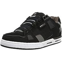 GLOBE Skateboard Shoes SABRE BLACK/GRAY/CHOCO Size 8