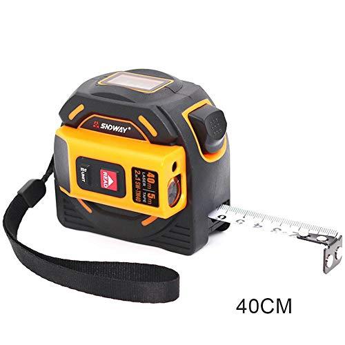 Class-Z Massband Laser Entfernungsmesser Digital Maßband,2 In 1 Maßband 5M Messgerät LCD-Digitalanzeige Handheld Infrarot 60M 40M Elektronisches Lineal -