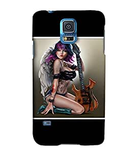 EagleHawk Designer 3D Printed Back Cover for Samsung Galaxy S5 Mini - D386 :: Perfect Fit Designer Hard Case
